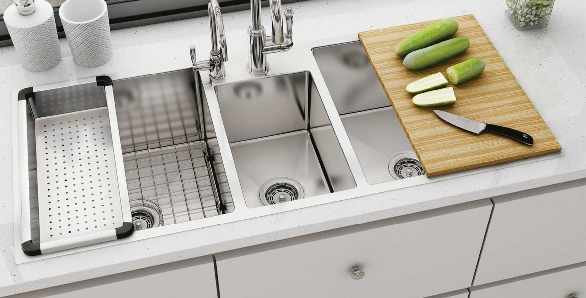 quality Apron Stainless Steel Kitchen Sink factory