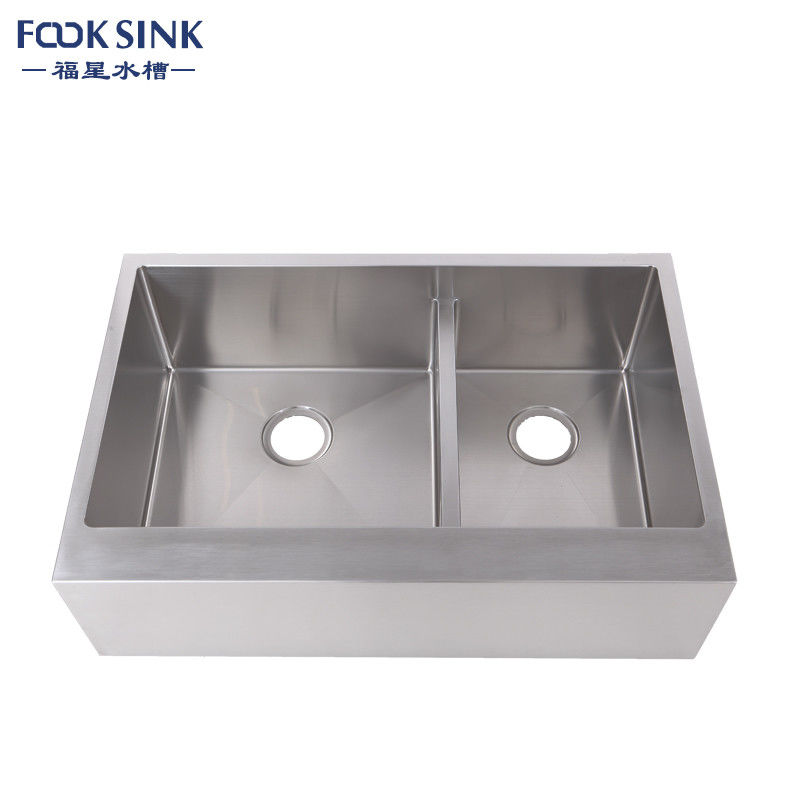 Farmhouse Apron Front Stainless Steel Kitchen Sink With Long Using Life